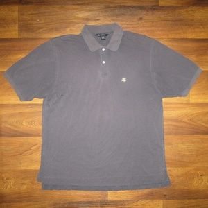 Brooks Brothers 1818 Blue Polo Shirt Size XL